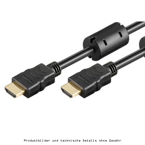 HDMI auf HDMI St/St Kabel 1m