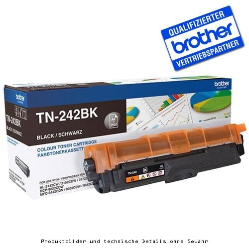 Brother TN242BK Toner schwarz 2500Seiten