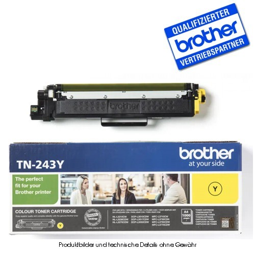 Brother TN243Y - Yellow - Original Toner