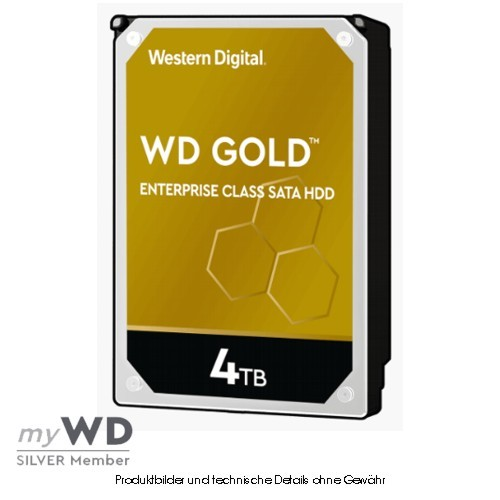 Western Digital Gold Enterprise 4TB WD4003FRYZ, CMR