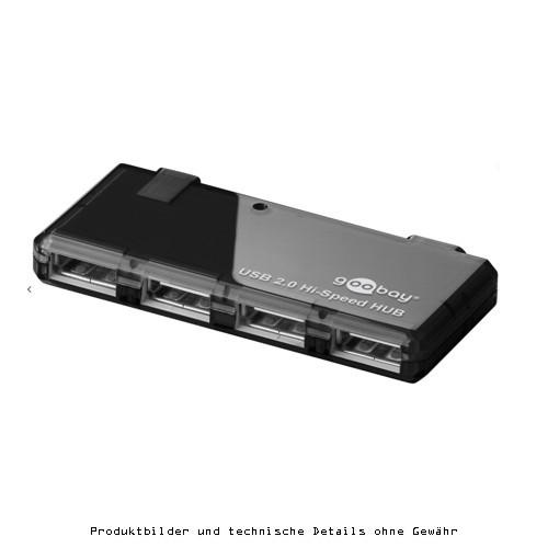 Goobay USB 2.0 Hub 4fach aktiv