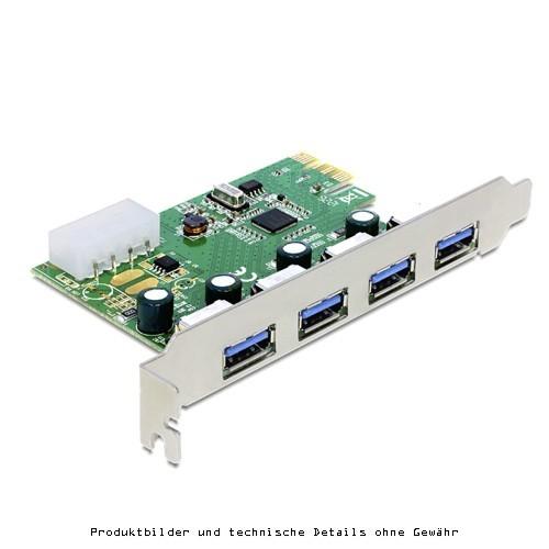 Delock 89363 PCIe 4 x ext USB 3.0