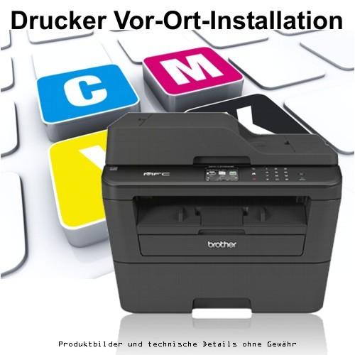 Vor-Ort-Service Drucker-Installation