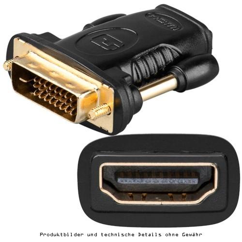 Adapter DVI Stecker auf HDMI-Buchse