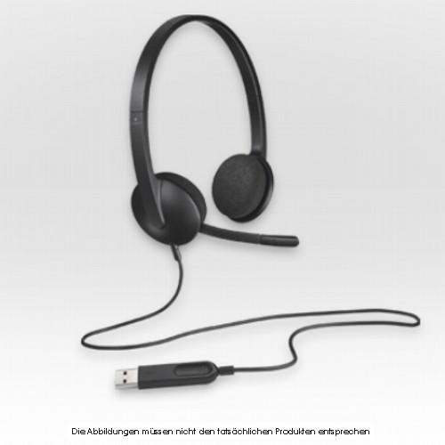 Logitech Stereo Headset H340 USB