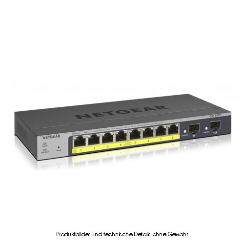 Netgear GS110TP 8x10/100/1000 8xPOE