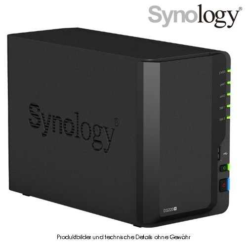 Synology Disk Station DS220+ 2-Bay
