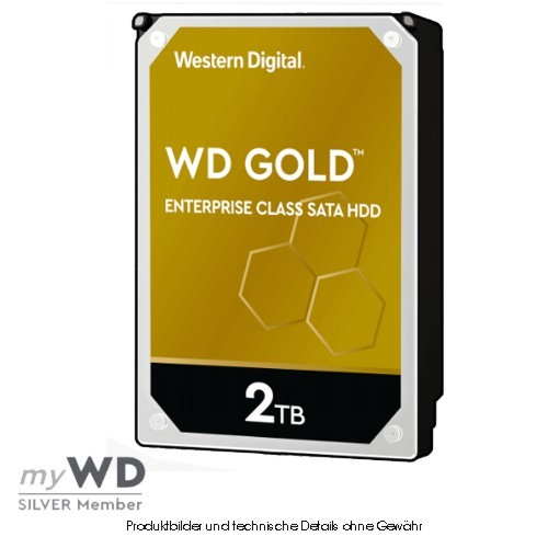 Western Digital Gold Enterprise 2TB WD2005FBYZ, CMR