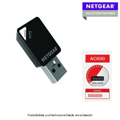 Netgear A6100 WiFi USB Mini Adapter