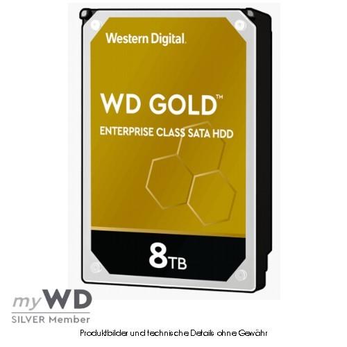 Western Digital Gold Enterprise 8TB WD8004FRYZ, CMR