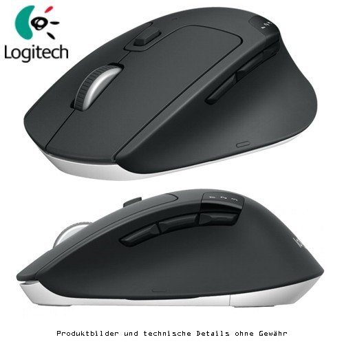 Logitech M720 Triathlon - Maus - optisch
