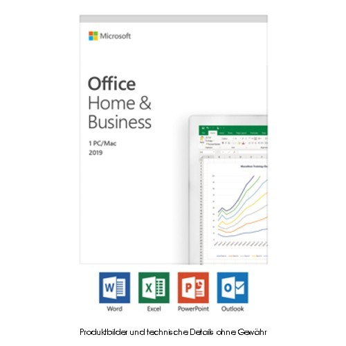MS Office 2019 Home and Business PKC