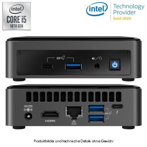 Intel NUC BXNUC10I7FNK2 I7-10710U M.2