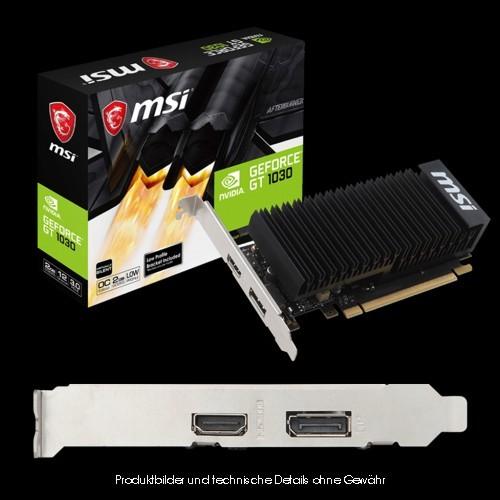 MSI GV-N1030 2GH LP OC 2GB GDDR5 Passiv