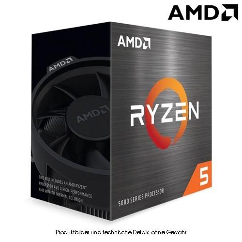 AMD Ryzen5 5600X 3,7/4,6GHz 6 Kerne S.AM4