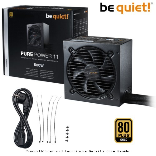 be quiet! PURE POWER 11 - 500W