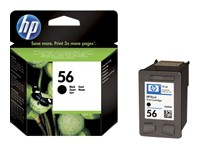 HP Patrone (56) black 19ml