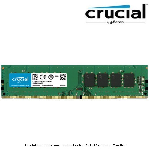 Crucial 16GB DDR4 2666 CL19 PC4-21300