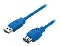 USB 3.0 Verlängerung 3m A-A St/Bu