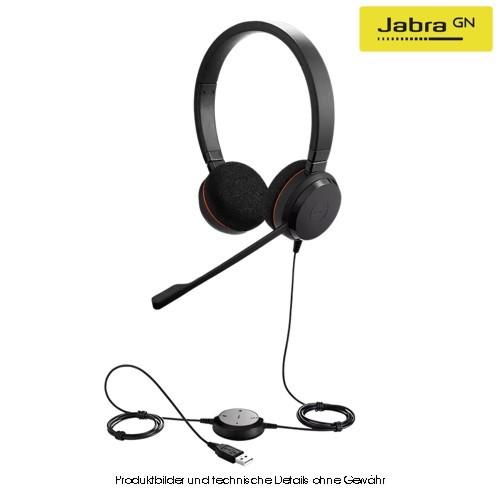Jabra Evolve 20 UC Stereo USB