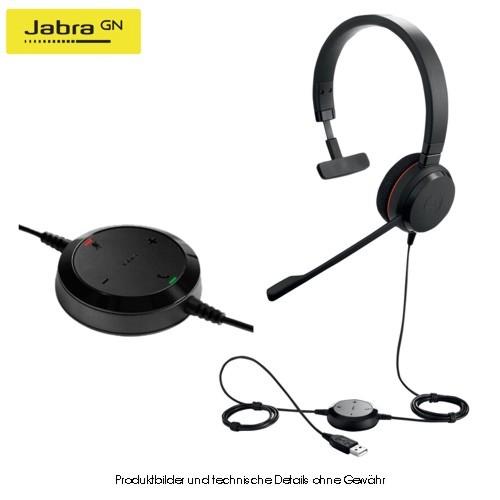 Jabra Evolve 20 UC Mono USB