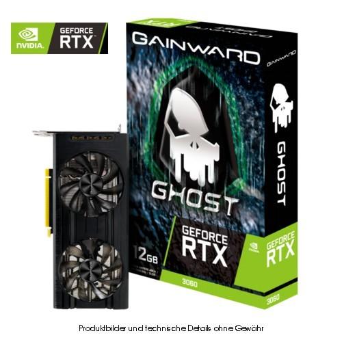 Gainward RTX3060 Ghost 12GB GDDR6 HDMI 3xDP