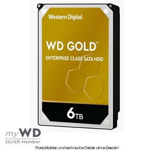 Western Digital Gold Enterprise 6TB WD6003FRYZ, CMR