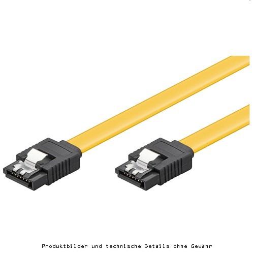 S-ATA 6Gb/s Flachkabel 0,2m