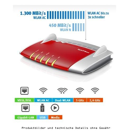 AVM FRITZ! Box WLAN 3490 ADSL/2+ VDSL