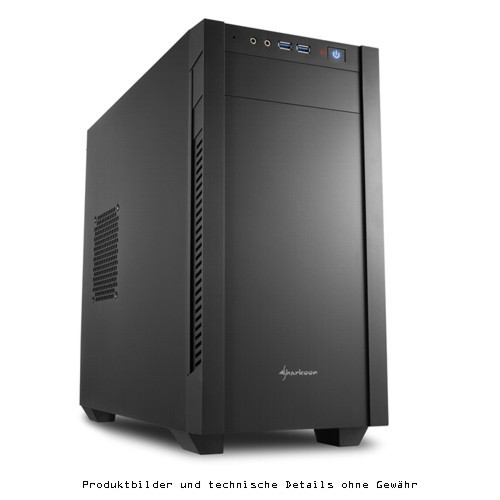 Sharkoon MiniTower S1000 - mATX USB 3.0