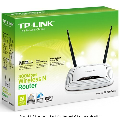 TP-Link WR841N 300MBit/s-WLAN-N-Router