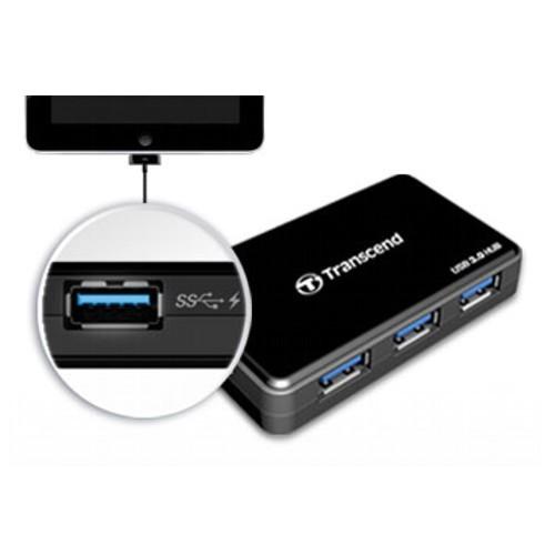 Transcend USB3-Hub 4-Port inkl.NT