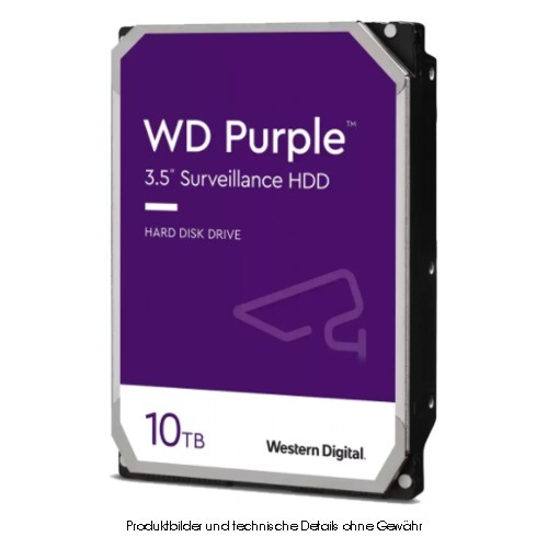 WD Purple WD102PURZ 10TB 6Gb/s CMR