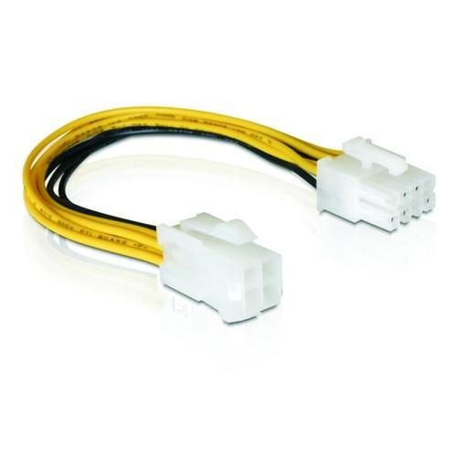 Delock Kabel Power 8pin EPS zu 4pin ATX