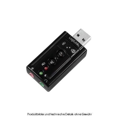 LogiLink Soundkarte USB 7.1 Surround Sound