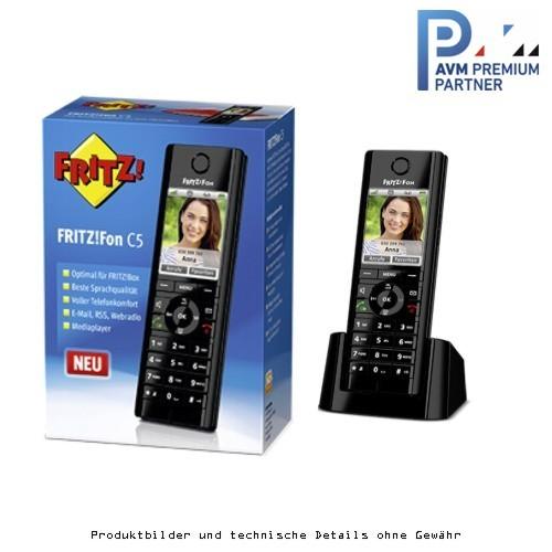 AVM Fritz!Fon C5 -Schnurlos DECT-Telefon