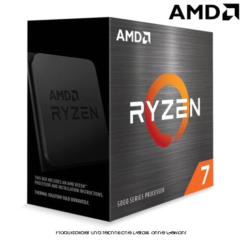 AMD Ryzen7 5800X 3,8/4,7GHz 8 Kerne S.AM4