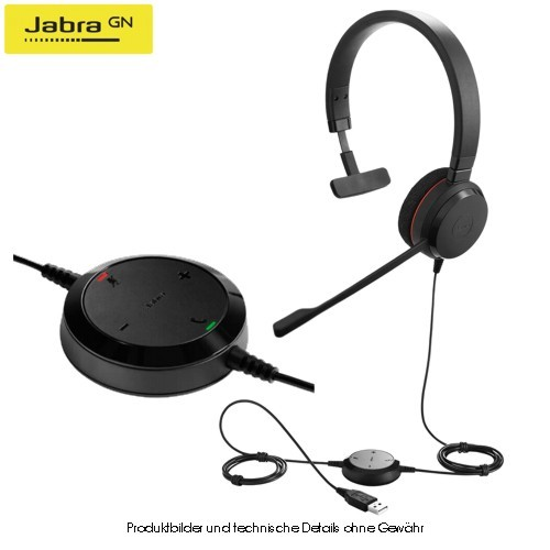 Jabra Evolve 20 UC Mono Special Edition USB