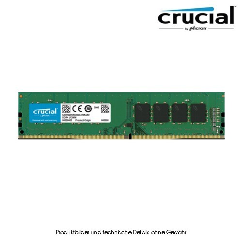 Crucial 32GB DDR4 3200 CL22 PC4-25600