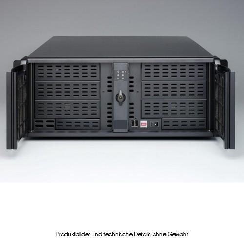 Fantec TCG-4860X07-1 4HE schwarz 688mm