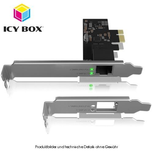 ICY BOX IB-LAN300-PCI, 2,5 Gigabit Ethernet