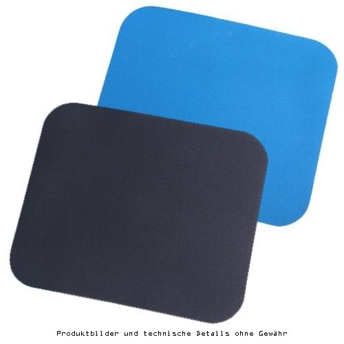-Mausmatte blau oder schwarz
