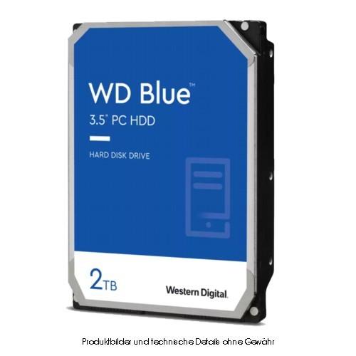 WD Caviar Blue WD20EZAZ 2TB, 5400 U/min SMR