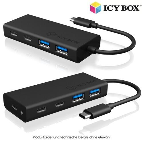 ICY BOX IB-HUB1426-CPD USB Type-C