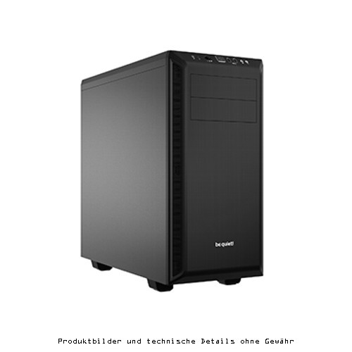be quiet! PURE BASE 600 Schwarz ATX USB 3.0