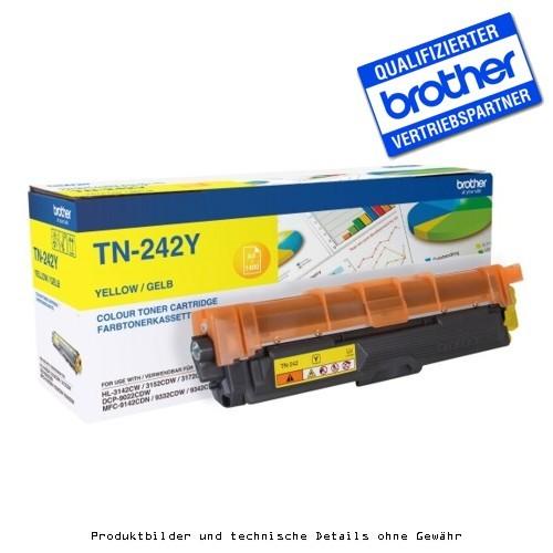 Brother TN242Y - Yellow - Original