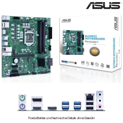 Asus PRO B560M-C/CSM, ATX, LGA1200