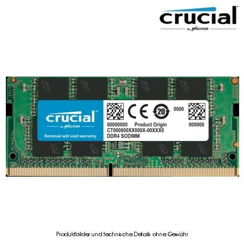 Crucial 16GB SO DDR4 3200 (PC4-25600)