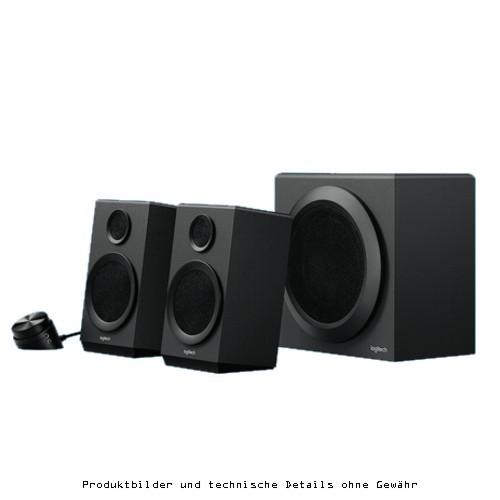 Logitech Z333 Speaker 2.1 schwarz