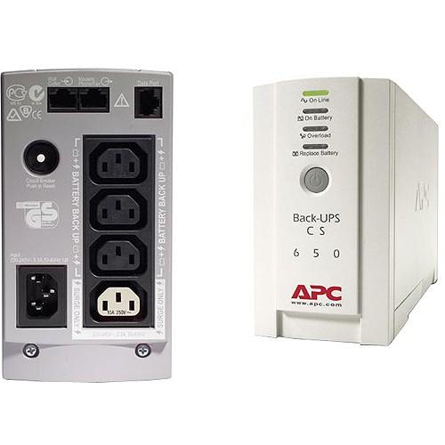 APC Back-UPS CS-650 650VA 230V